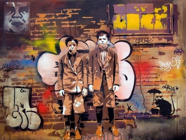 © Andrea Michaelsson | street art | arte urbano | acrílico | stencil | arte a un click | A1CGalería