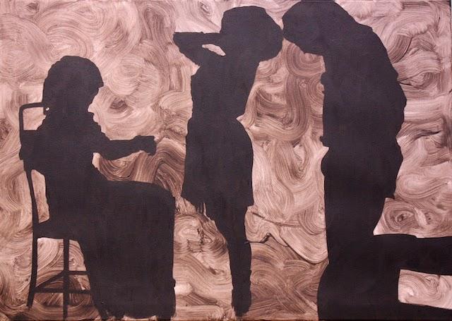 © Cristina Toledo | Oscuridad cegadora | Art4+ Art Consulting | Art Madrid'15 | Feria Arte Contemporáeo | arte a un click | A1CFerias