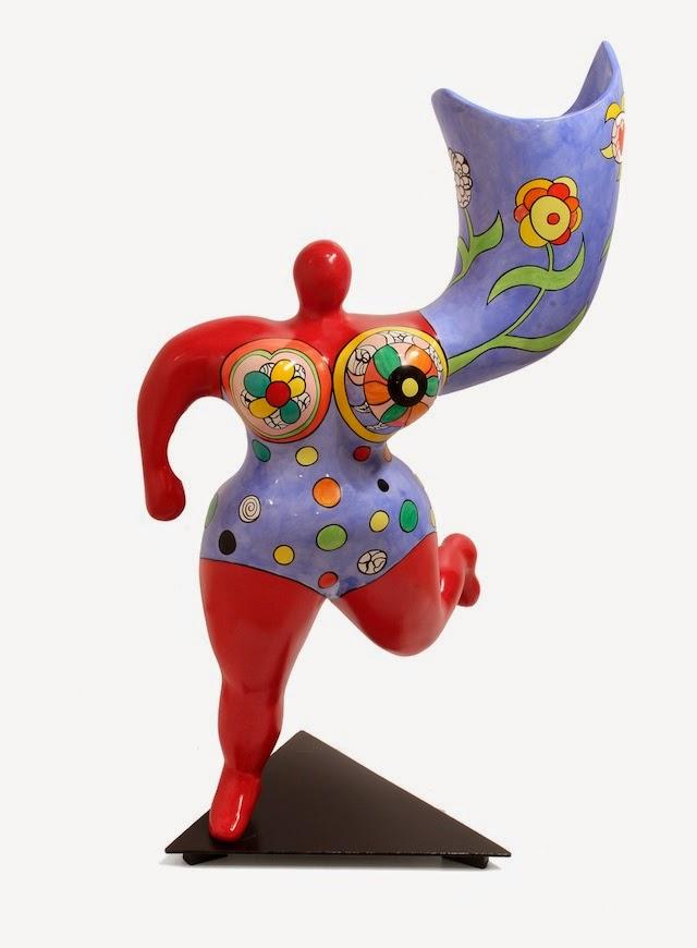 © Niki de Saint Phalle   L'Ange Vase   Galería Marc Calzada   Art Madrid'15   Feria Arte Contemporáeo   arte a un click   A1CFerias