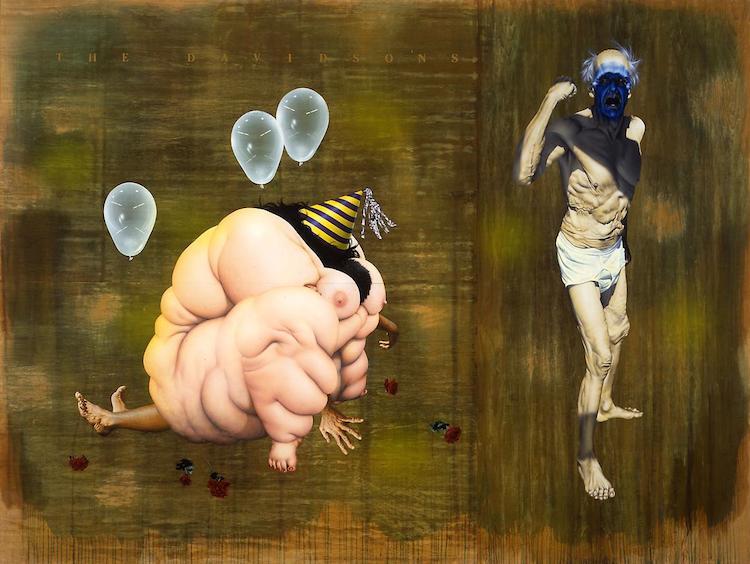 © Ashley Bickerton | pintura | arte a un click | A1CGalería