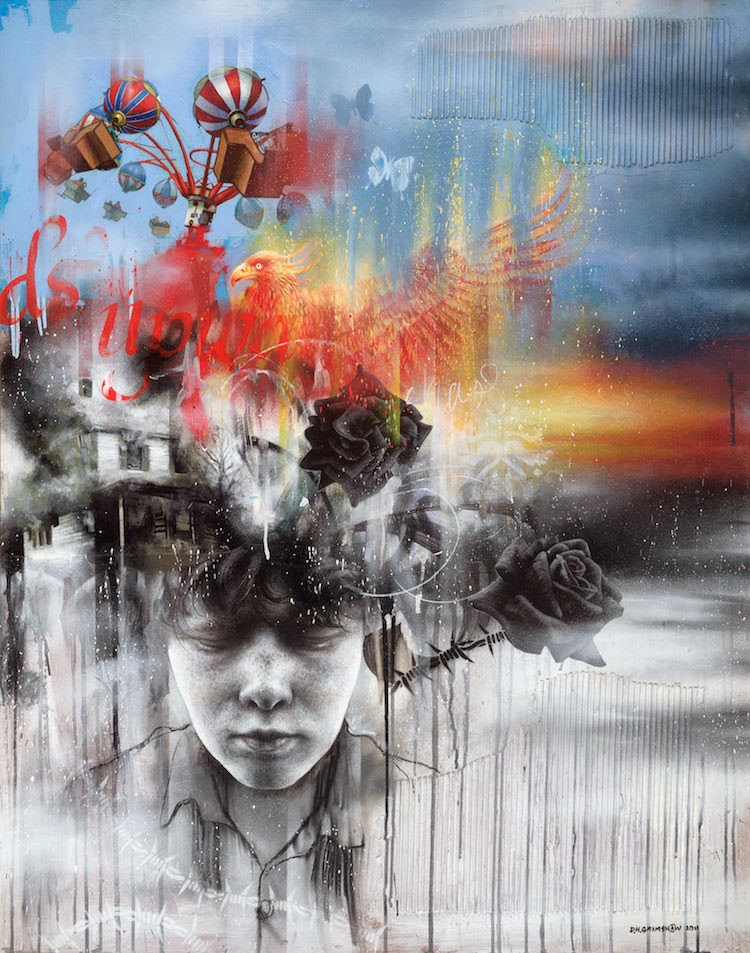 © Dale Grimshaw   street art   pintura   arte a un click   A1CGalería