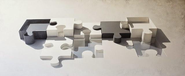© Alberto Morago | Puzzle 220 | El Quatre | Art Madrid'15 | arte a un click | A1CFerias
