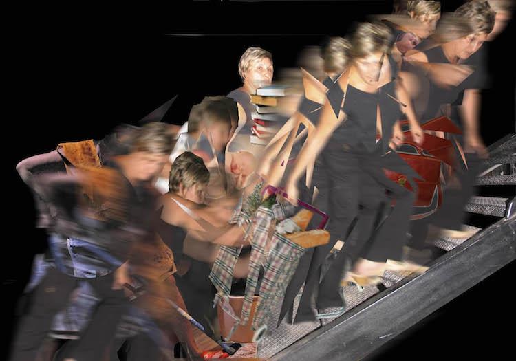 © Fabiola Andreu - Subiendo la escalera | Nuria Carbó |  MUJERES MIRANDO MUJERES | MMM | arte a un click | A1CProyectos