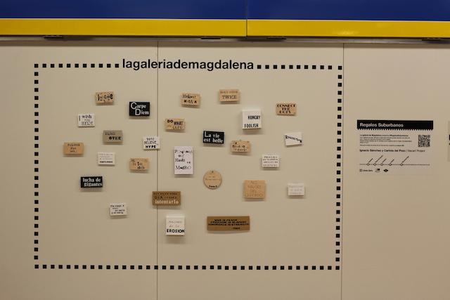 © La galería de Magdalena | Regalos suburbanos | Legazpi| Línea Zero | Madrid Street Art Project | arte a un click | A1CExpos