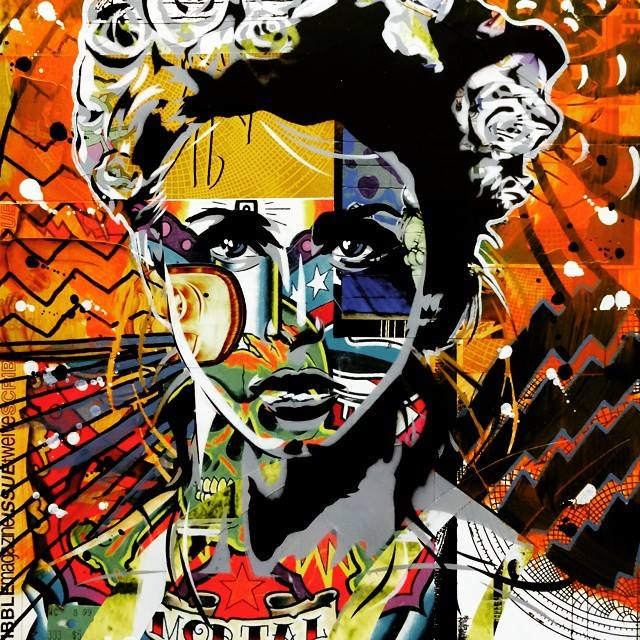 © Bryce Chisholm | street art | pintura | arte a un click | A1CGalería