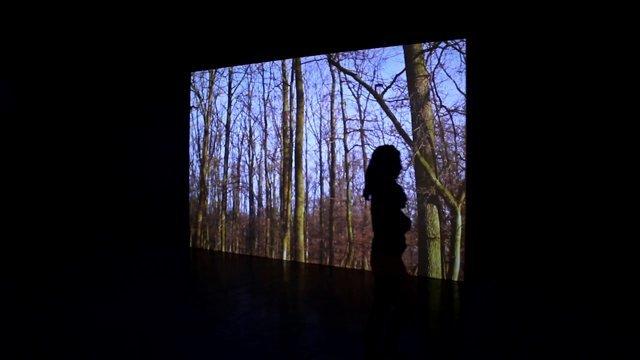 © Glenda León | Cada Respiro | Matadero Madrid | Nave 16 | Instalación Audiovisual | Arte a un click | A1CExpos