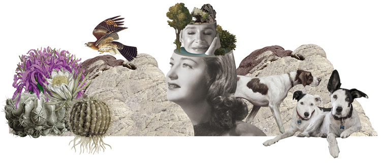 © Isabel Chiara | Collage for AS IF MAGAZINE | Laura G. Vidal | MUJERES MIRANDO MUJERES | MMM | arte a un click | A1CProyectos