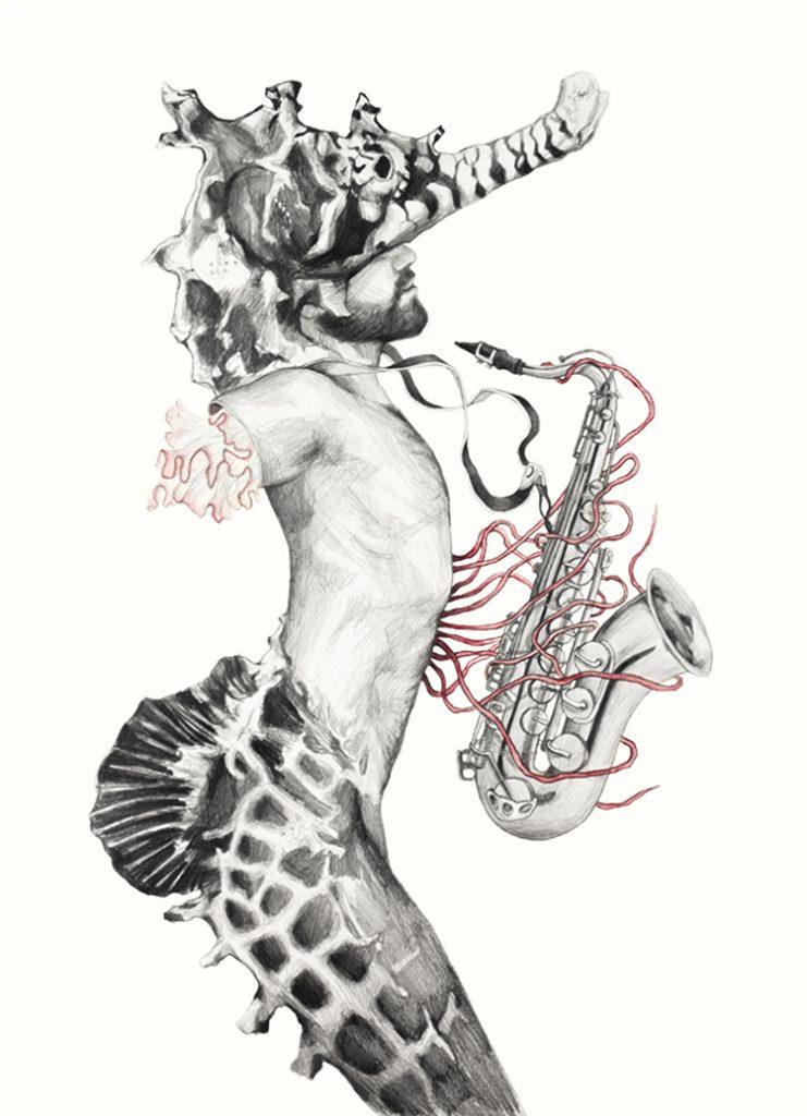 © Elisa Ancori | Musicians men | Caball2 | Jellyfish | Donia Hamzaoui  | MUJERES MIRANDO MUJERES | MMM | arte a un click | A1CProyectos
