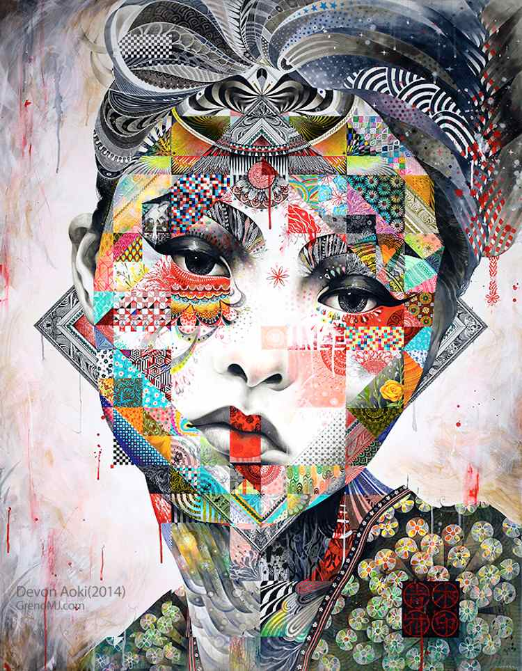 © Minjae Lee | ilustración | pintura | Arte a un click | A1CGalería