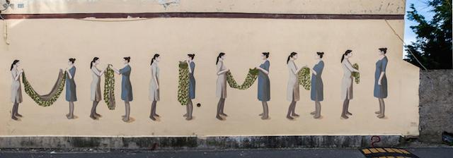 © Hyuro   La mujer invisible   Madrid Street Art   Línea Zero   arte a un click   A1CExpos