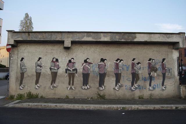 © Hyuro | La mujer invisible | Madrid Street Art | Línea Zero | arte a un click | A1CExpos