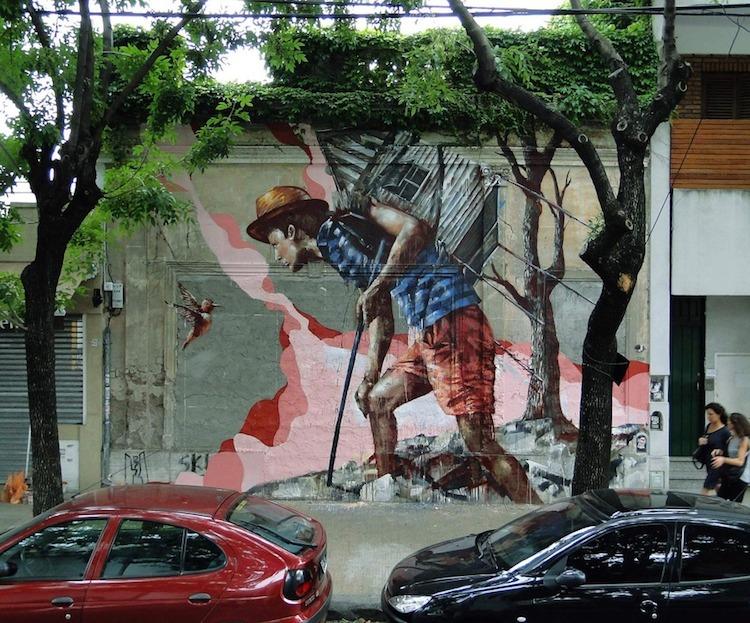 © Fintan Magee | streetart | Arte a un click | A1CGalería