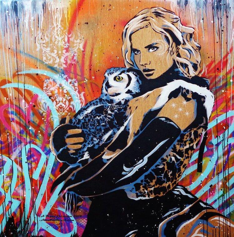 © Bryce Chisholm   street art   pintura   arte a un click   A1CGalería