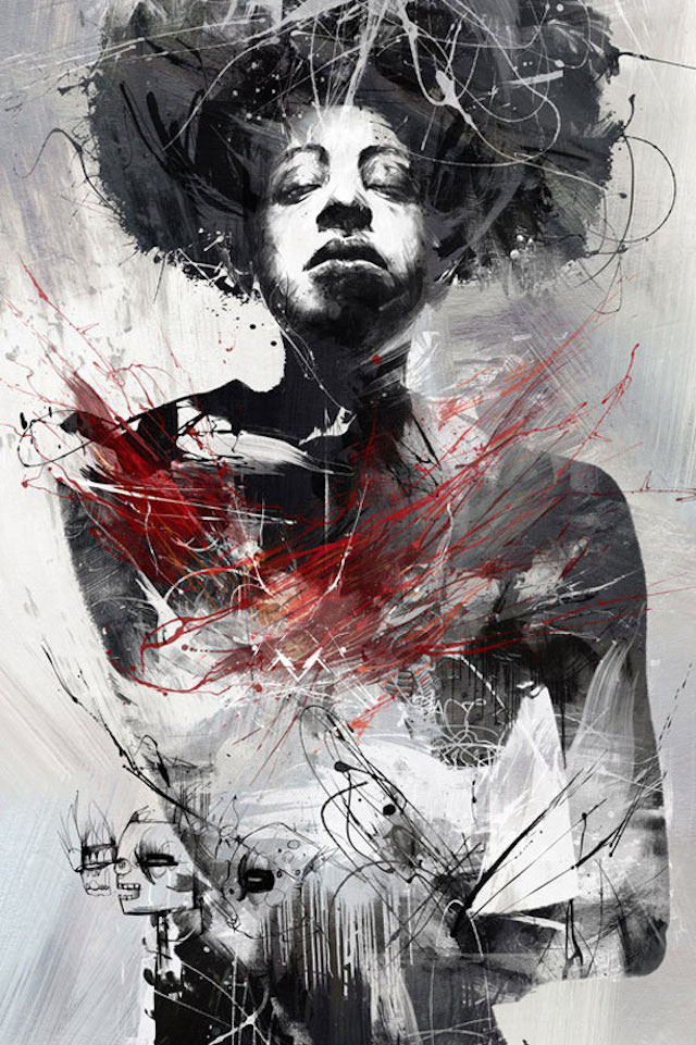 © Russ Mills | ilustración | arte digital | Arte a un Click | A1CGalería