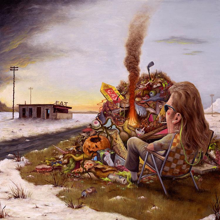 © Sean Norvet | ilustración | pintura | crítica social | arte a un click | A1CGalería