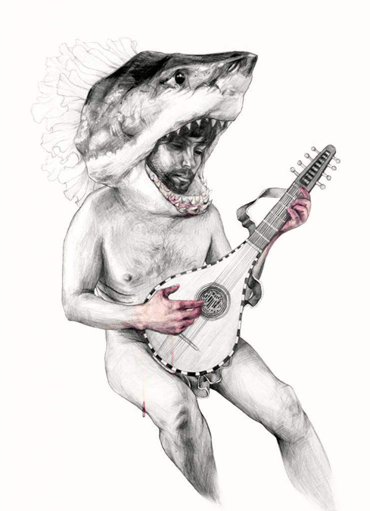 © Elisa Ancori | Musicians men Shark 2 | Donia Hamzaoui  | MUJERES MIRANDO MUJERES | MMM | arte a un click | A1CProyectos