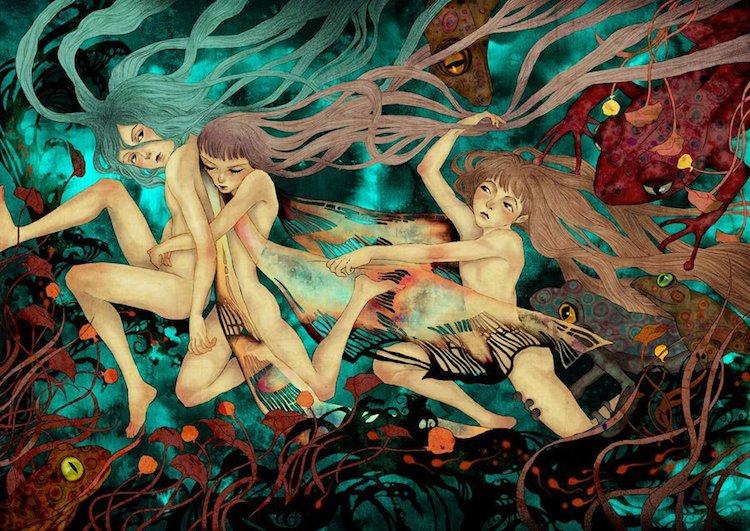 © Khola Le | ilustración | arte digital | surrealismo | Arte a un Click | A1CGalería