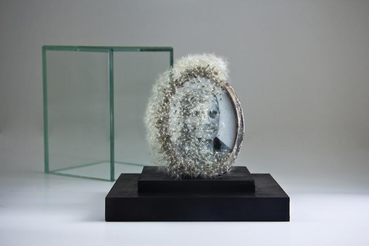 Dejame volar III Portarretratos |   © David Catá  | escultura | entrevista | arte a un click | A1CGalería