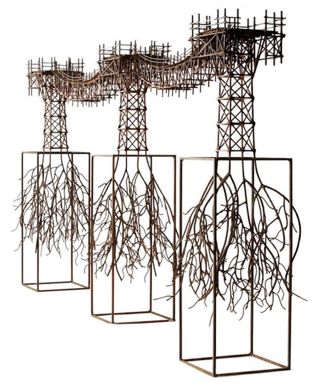 © Fernando Suárez | Puente orgánico | Galería Gabriel Vanrell | Art Palma Brunch | Arte a un Click | A1CFerias