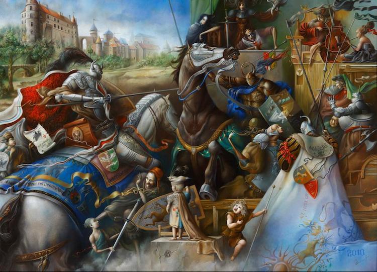 © Oleg Osipoff | pintura | figuración | arte a un click | A1CGalería