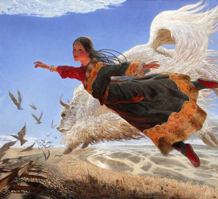 © Wang Yi Guang | pintura | figuración | arte a un click | A1CGalería
