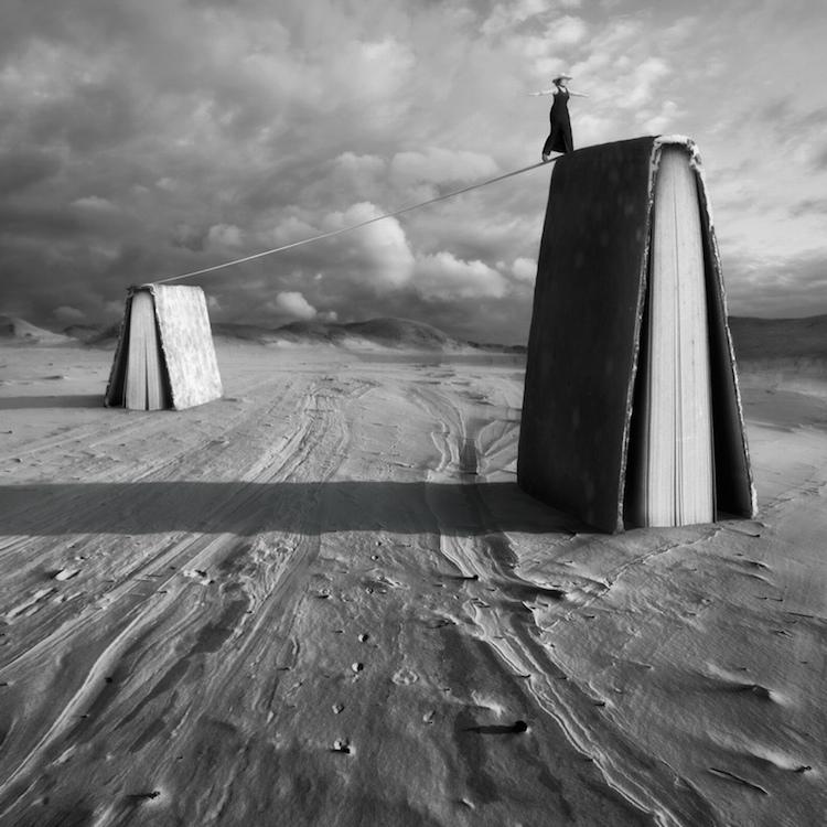 © Dariusz Klimczak | fotografía | fotomontaje | surrealismo | b/n | arte a un click | A1CGalería