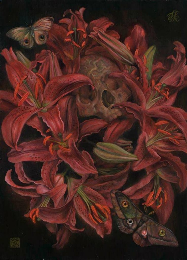 © Toru Kamei | pintura | simbolismo | surrealismo | arte a un click | A1CGaleria