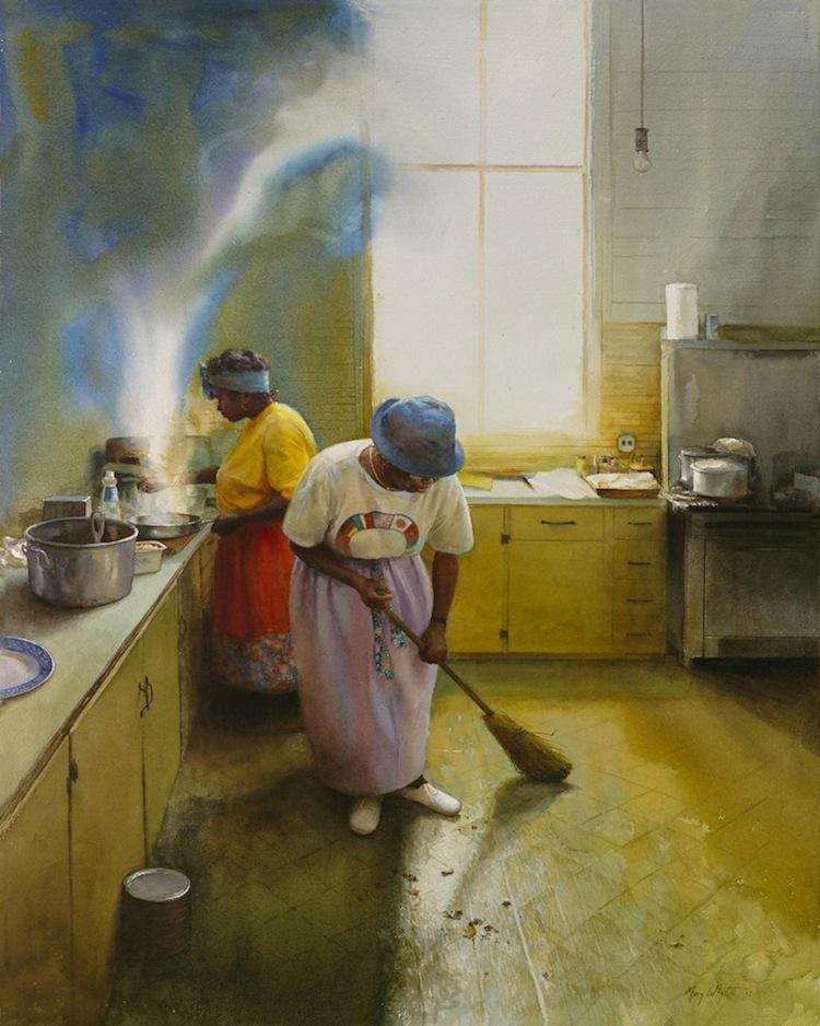 © Mary White | pintura | acuarela | realismo | arte a un click | A1CGalería
