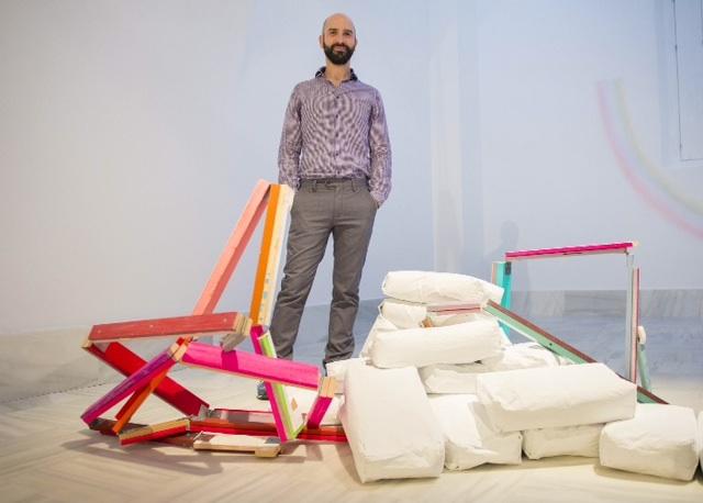 © Guillermo Mora | Cae el cielo | Espacio Creación Contemporánea ECCO | exposición 2015 | Cádiz | arte a un click | A1CExpos