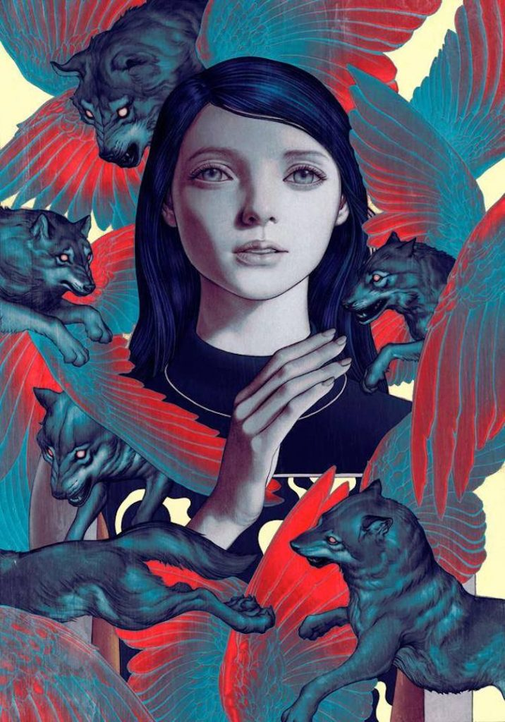 © James Jean | pintura | Ilustración | cómic | arte a un click | A1CGalería