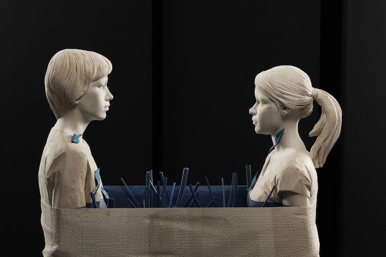 © Willy Verginer | escultura | realismo | madera | surrealismo | arte a un click | A1CGalería