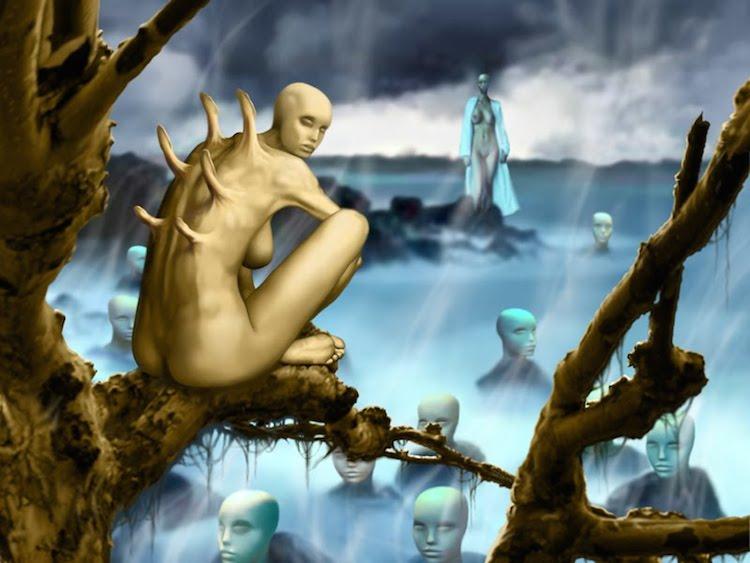 © Oswaldo Mejía | ilustración | surrealismo | arte a un click | A1CGalería