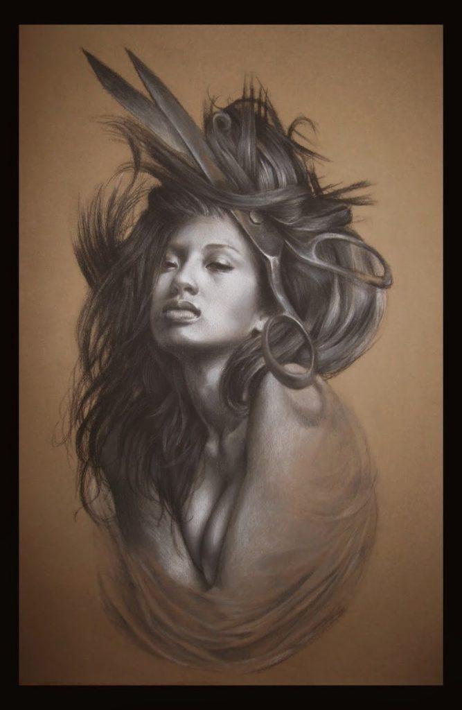 © Jeffrey Randolph Richter   pintura   dibujo   pastel   arte a un click   A1CGalería