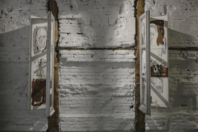 © Borondo | Memento Mori | ❲Es❳ Positivo | ESPOSITIVO | entrevista | MARTE Feria Internacional Arte Contemporáneo | arte a un click | A1CFerias
