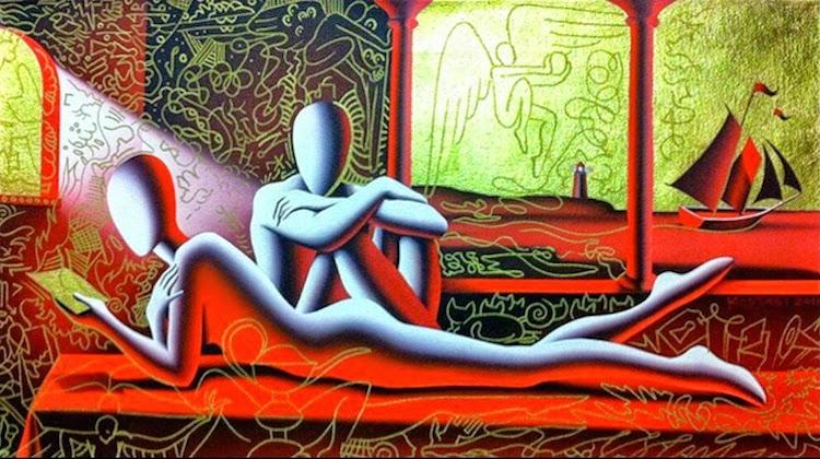 © Mark Kostabi | pintura | arte a un click | A1CGalería