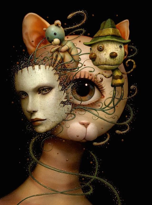 © Naoto Hattori   ilustración   surrealismo   arte a un click   A1CGalería