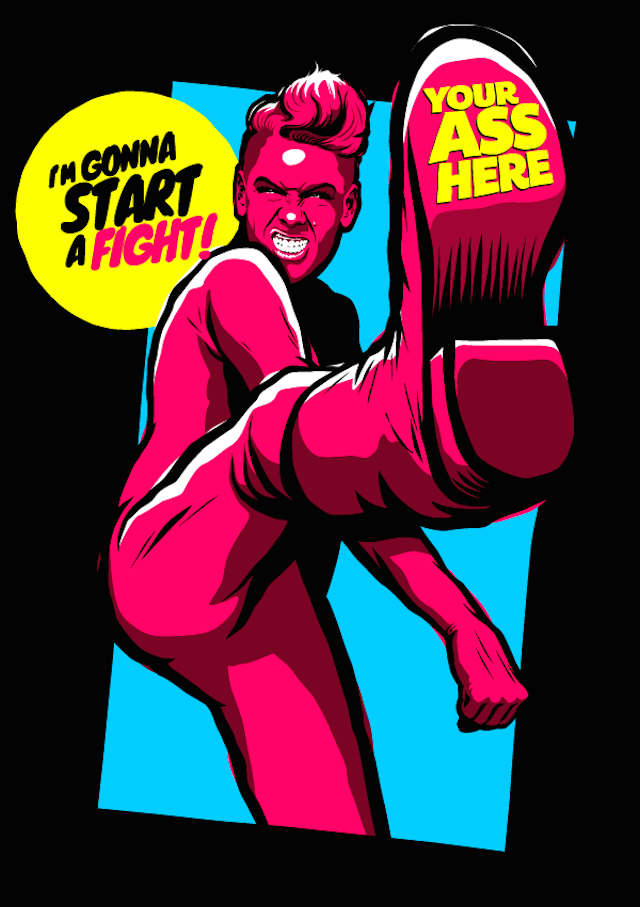 ©  Butcher Billy | ilustración | pop art | arte a un click | A1CGalería