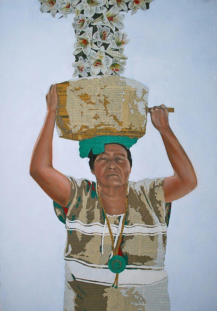 © Fidencio Martínez | pintura | collage | arte a un click | A1CGalería