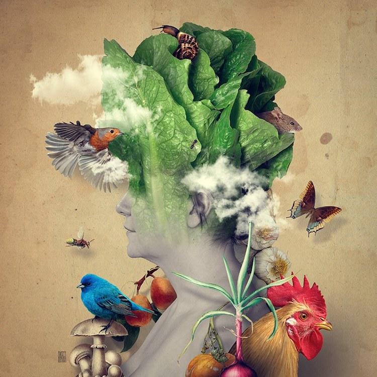 © Andrea Costantini | fotografía | fotomontaje | surrealismo | retrato | arte a un click | A1CGalería