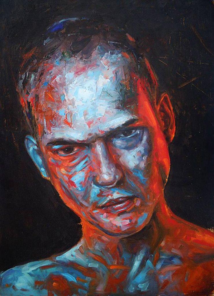 ©  Alessio Radice | pintura | retrato | realismo | arte a un click | A1CGalería