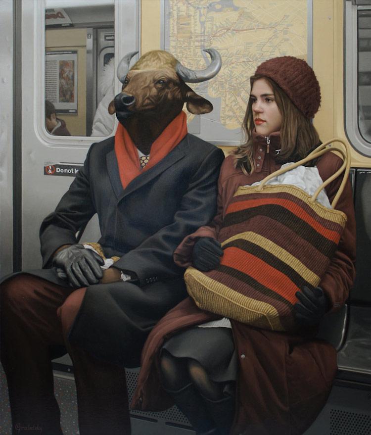 © Matthew Grabelsky | pintura | realismo | surrealismo | arte a un click | A1CGalería