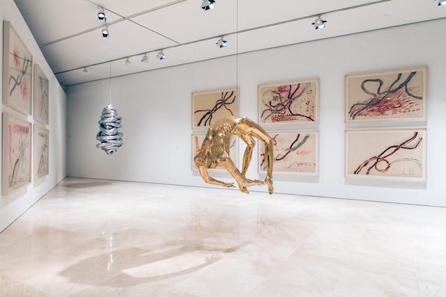 © Louise Bourgeois | He estado en el infierno y he vuelto | escultura |exposición 2015 | Museo Picasso Málaga | arte a un click | A1CExpos