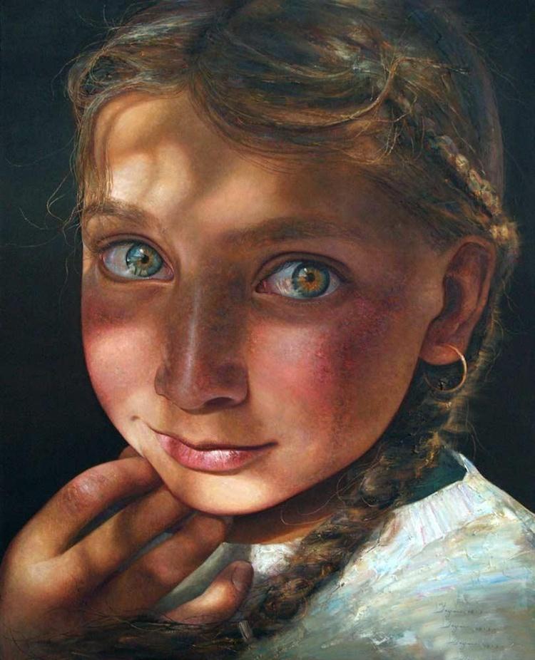 © Yan Yaya | pintura | retrato | realismo | arte a un click | A1CGalería