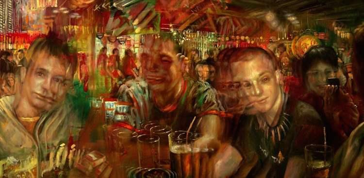 © Jakub Kujawa | pintura | ilustración | digitalart | figuración | retrato | arte a un click | A1CGalería
