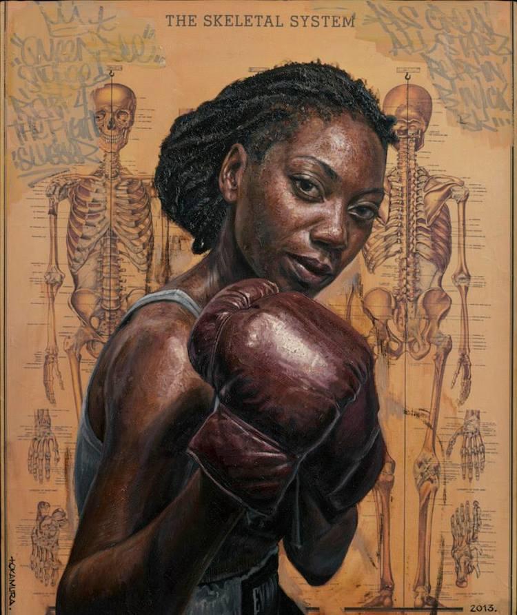 © Tim Okamura | pintura | graffiti | collage | realismo | arte a un click | A1CGalería
