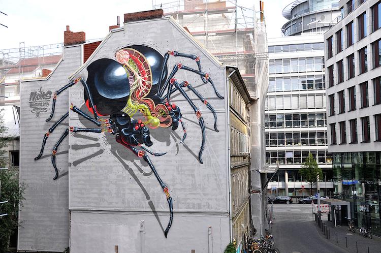 © Nychos |streetart | ilustración | arte a un click | A1CGalería