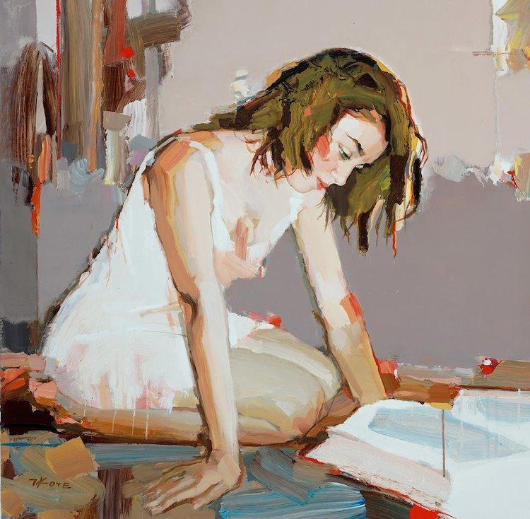 © Josef Kote | pintura | acrílico | espátula | marinas | arte a un click | A1CGalería
