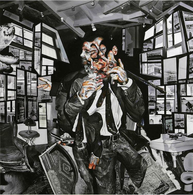 © Chambliss Giobii   collage   fotografía   retrato   arte a un click   A1CGalería