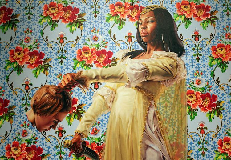 © Kehinde Wiley | pintura | hiperrealismo | retrato | figurativismo | arte a un click | A1CGalería