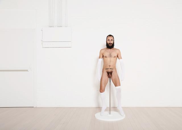 © Miguel Andrés   UNTITLED Exhibition(ism)   Premio Embarrat 2014   performance   arte a un click   A1CExpos